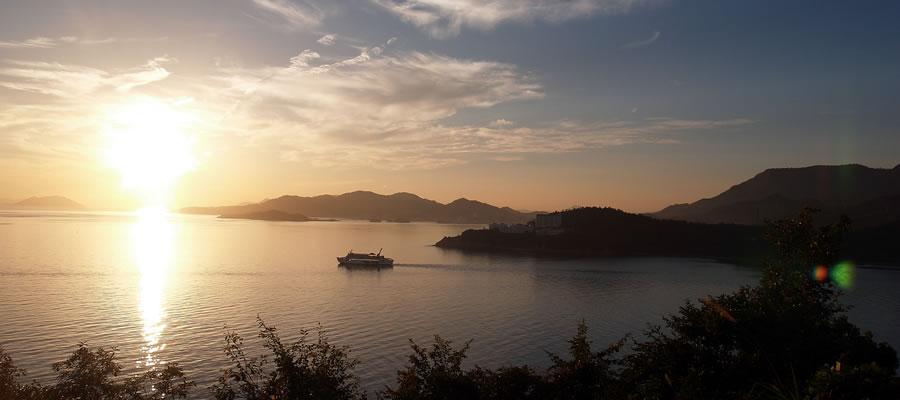 小豆島の朝日